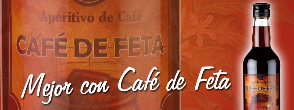 Aperitivo de café. Café de Feta