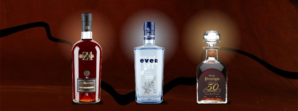imagen empresa con baoruco 21, gin ever y prestigio 50