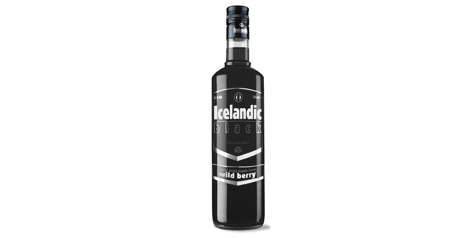 Icelandic Black vodka