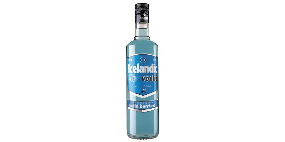 Icelandic Blue Vodka