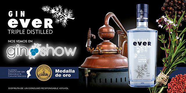 Gin Ever en Gin ShowImagen Destilerias Sinc