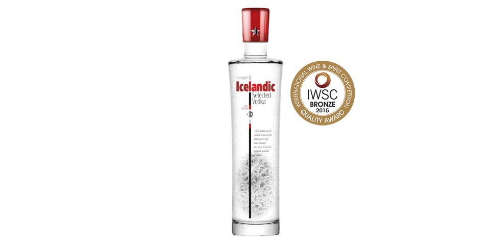 icelandic premium vodka iwsc bronze 2015Imagen Destilerias Sinc