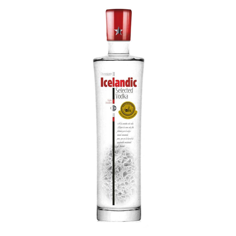 premium icelandic selected vodka medalla oro ssel 2015Imagen Destilerias Sinc