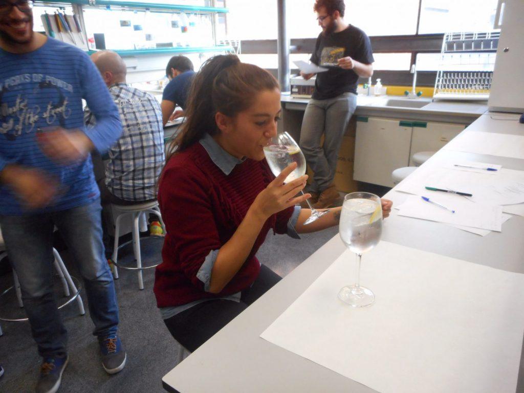 Gin Ever en la cata de ginebras de la Universidad de Castilla La Mancha