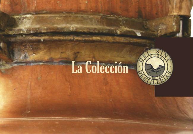 catalogo de licores sincImagen Destilerias Sinc