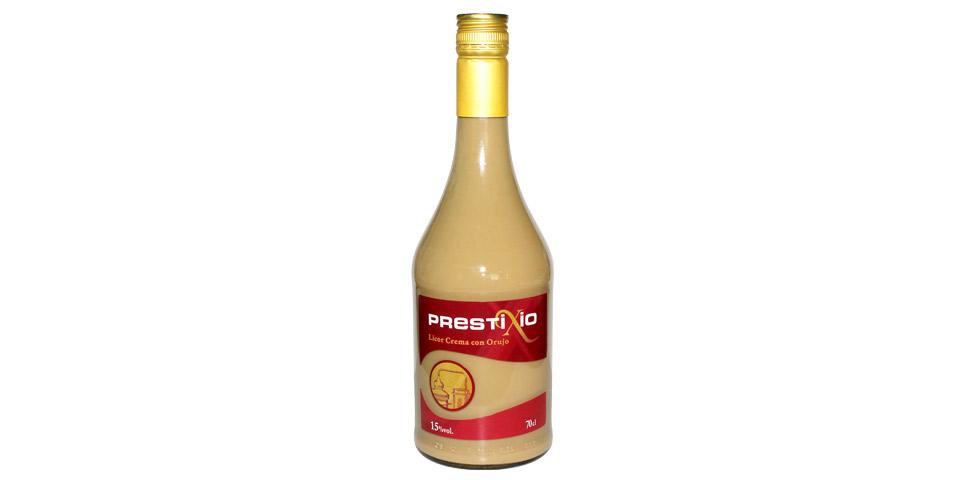 El prestigio de nuestro licor crema con orujo PrestixioImagen Destilerias Sinc
