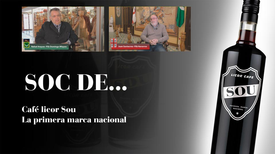 Vídeos glorieros 2018 Filà Navarros y Filà Miqueros patrocinados por Café SouImagen Destilerias Sinc