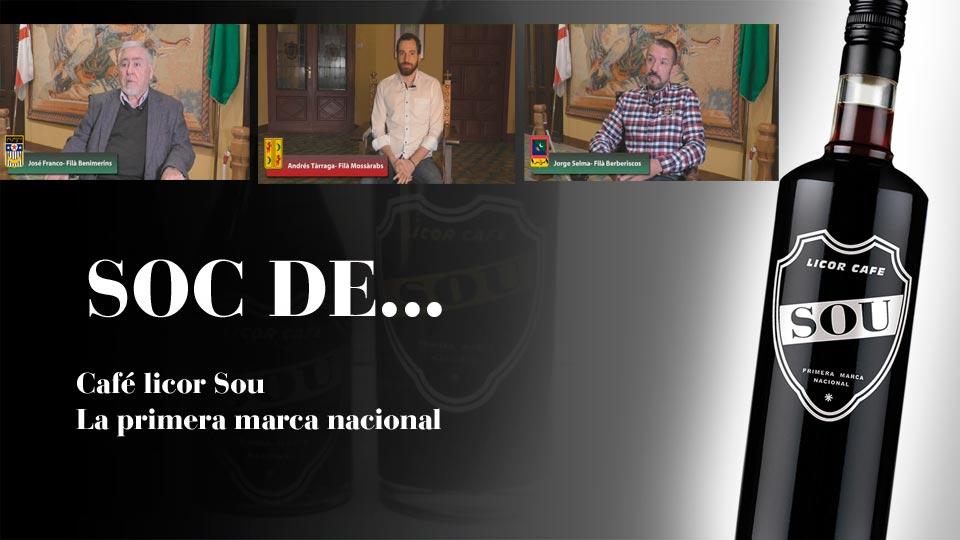 Cafe Sou patrocina los videos glorieros de las filas mossarabs, berberiscos y benimerinsImagen Destilerias Sinc