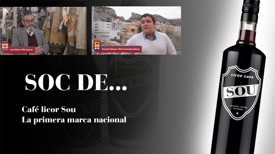Videos glorieros Filà Vascos y Filà Contrabandistas patrocinados por café souImagen Destilerias Sinc