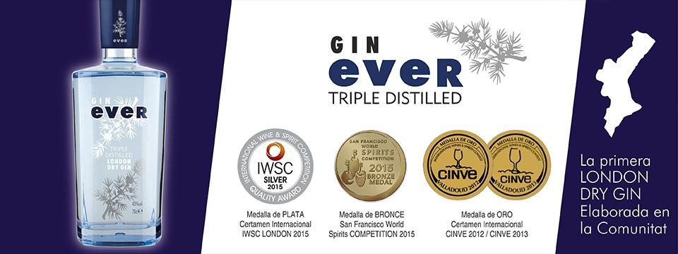 Gin Ever Triple Destilled de Alcoy