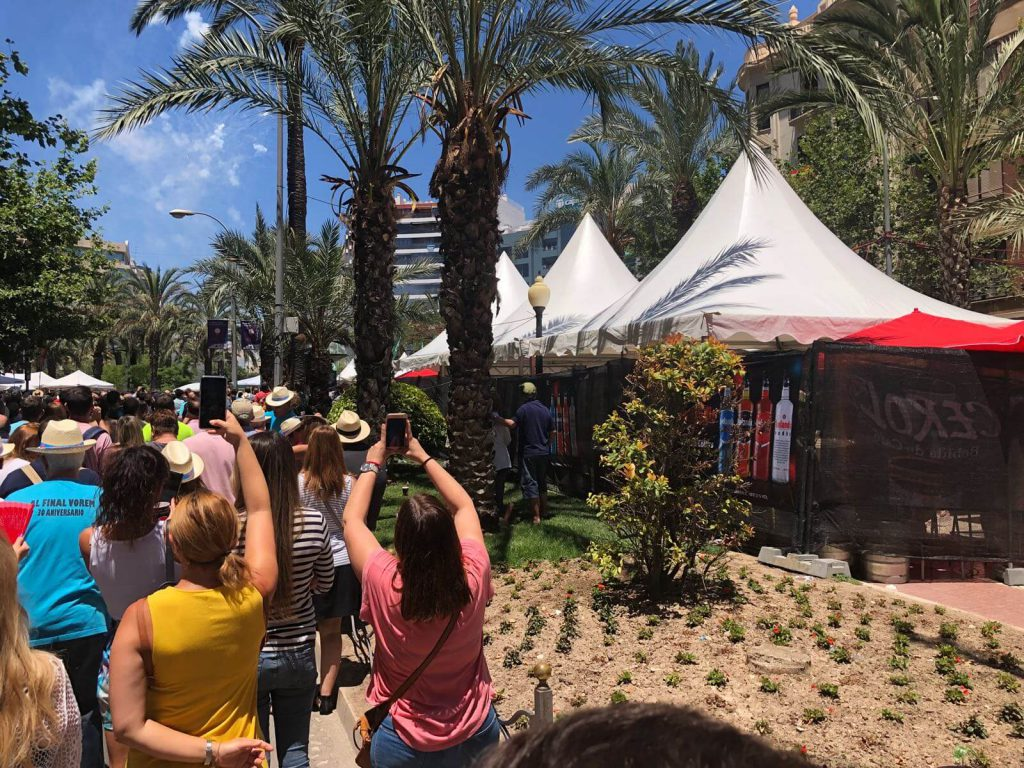 Licores Sinc por Hogueras 2018 Alicante